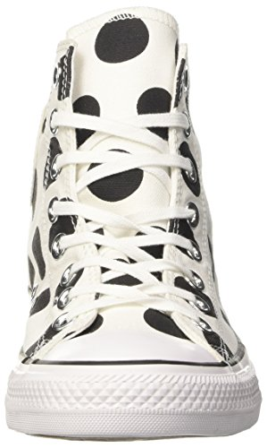 Hi CTAS Black Sneakers White Converse White White Women's 4C5xfZfqwE