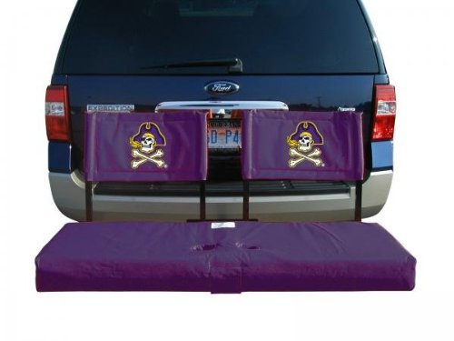 Rivalry NCAA East Carolina Pirates Tailgate Hitch Seat Cover (Sports Tailgate Seat)