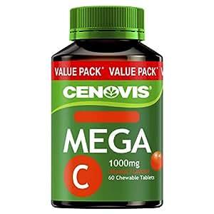 Cenovis Mega C 1000mg, Chewable - 60 Tablets