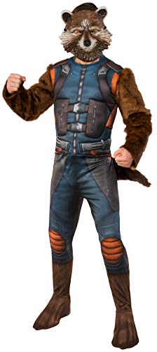 Rubie's Men's Guardians of The Galaxy Rocket Raccoon Costume, Multi Color, Standard]()