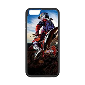 iPhone 6 Plus 5.5 Inch Cell Phone Case Black MotocrossR554072