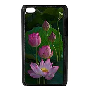 Water Lily Phone Case For Ipod Touch 4 [Pattern-1]