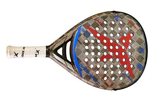 Drop Shot Conqueror 7.0 Professional Padel and Pop Tennis Paddle Racquet (2019 Model)