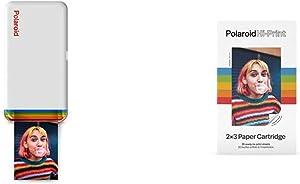 Polaroid Hi-Print - Bluetooth Connected 2x3 Pocket Photo Printer with Paper Cartridge (20 Sheets)