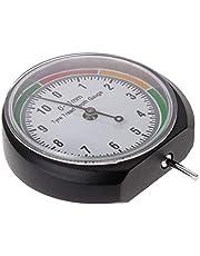 Heylas Bandenprofielmeter, dieptemeter, profieldieptemeter, doorzichtige wijzerplaat, eenvoudig te bedienen, auto, vrachtwagen, SUV, motorfiets, stoffen tas inbegrepen