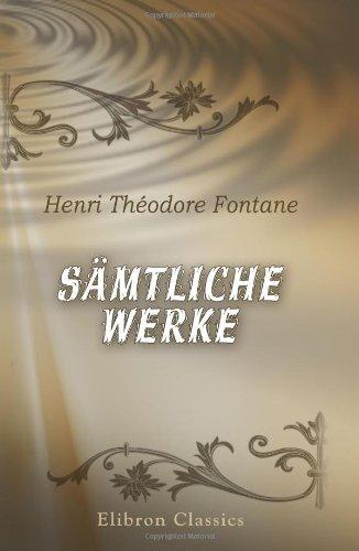 Sämtliche Werke (German Edition) PDF