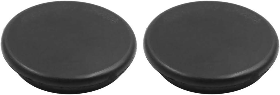 Sourcingmap Car Rubber Grommet Plug Wire Gasket Interior 54mm x 11mm Black 2pcs