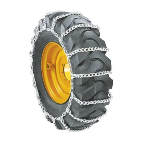 All States Ag Parts Skid Steer Loader Tire Chains - Ladder Chains Every 4 Links 9.5 x 16 - Sold in Pairs