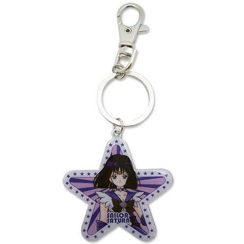 (Great Eastern Entertainment Sailormoon S Saturn Metal Keychain)