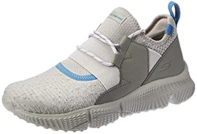 SKECHERS Zubazz, Men's Road Running Shoes, Brown (Taupe), 8 UK (42 EU)