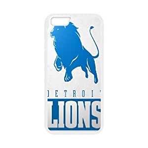 Detroit Lions Team Logo iPhone 6 4.7 Inch Cell Phone Case White persent zhm004_8549884