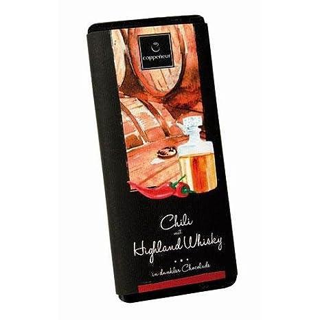 Chili & Highland Whisky, Schokolade