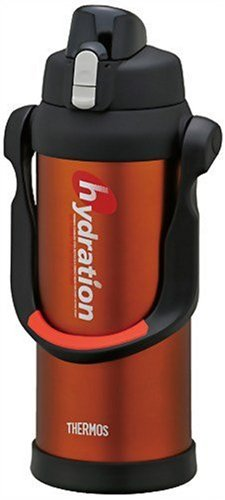 THERMOS Sports FEM-2001-OR Orange | Stainless Thermos 2.0 liter (67.6 oz.) (Japanese Import) by Thermos