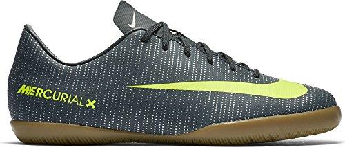 Nike Junior MercurialX Victory VI CR7 (IC) Fußballschuh Seetang / Hasta / Weiß / Volt