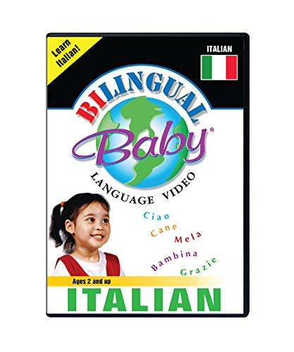 Bilingual Baby Learn Italian DVD for Babies and Toddlers