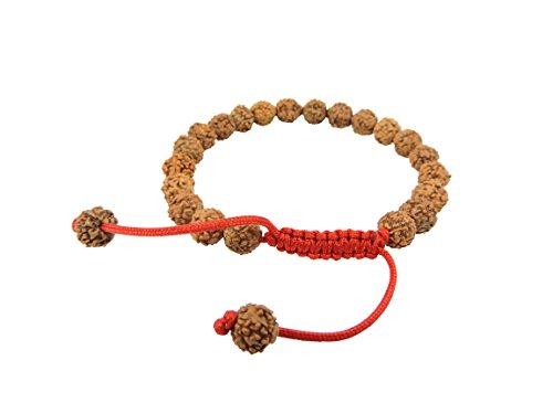 Rudraksha Seed Wrist Mala/ Bracelet for Meditation