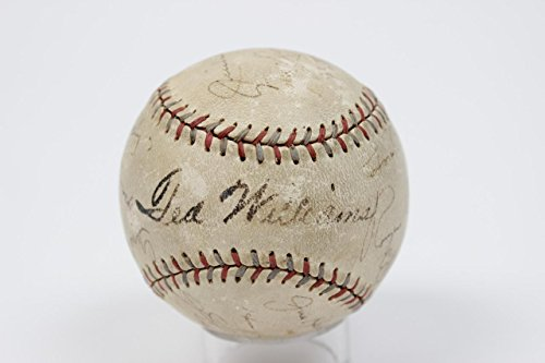 1939 Boston Red Sox - Ted Williams Rookie Year Signed, Autographed Professional League Baseball (Red & Blue Stitching) Incl. (JSA Full LOA)