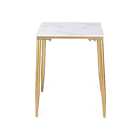 Tavolo da pranzo in marmo con gambe in metallo dorato Cucina ...
