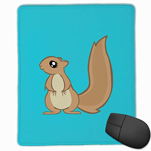 Mouse Pad Squirrels Durable for Laptop Computer