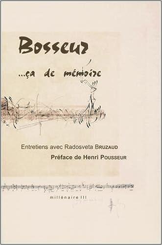 Livre gratuits Jean-Yves Bosseur...…ça de mémoire pdf, epub ebook
