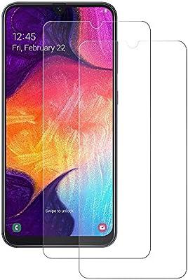 POOPHUNS 2-Unidades Cristal Templado Samsung Galaxy A50/Galaxy A30 ...