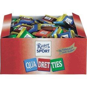 Ritter Sport Ritter Sport Quadretties VE=200 Stück