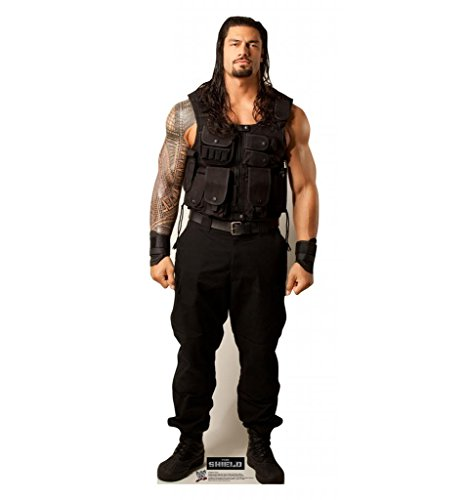 Wwe Cut Out - Roman Reigns - WWE - Advanced Graphics Life Size Cardboard Standup
