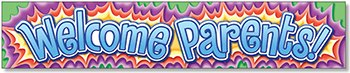 North Star Teacher Resources Welcome Parents Banner  69 X 13 In