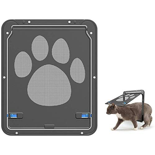 Playpens Cat Flap Pet Cats Screen Doors Best Window/Screen Sliding Door, Suitable for Small Dogs & Cats