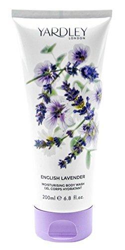 (Yardley of London English Lavender Body Wash, 250 ml, Made in England)