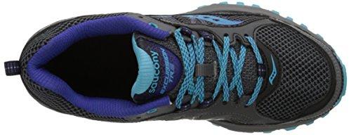 Zapatillas Mujer azul Trail Saucony running gris de zgPqwEPxfT