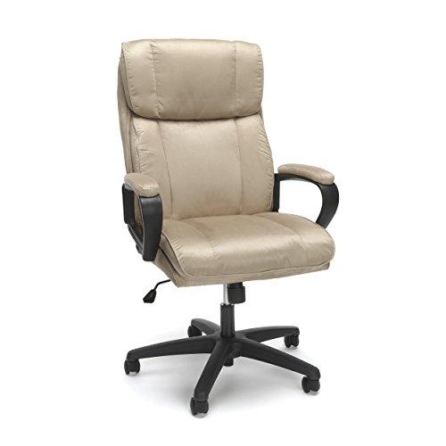 Essentials Executive Chair – High Back Office Computer Chair (ESS-3081-TAN)