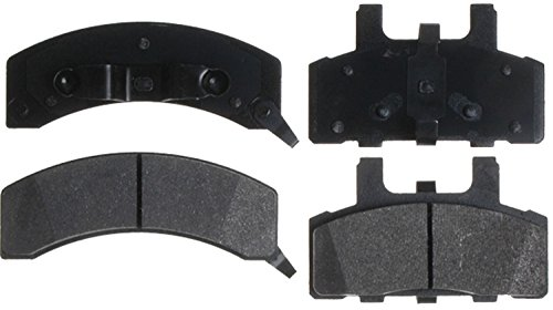 (ACDelco 14D369MX Advantage Severe Duty Organic Front Disc Brake Pad Set)