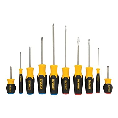 DEWALT DWHT62513 10 Piece Screwdriver Set