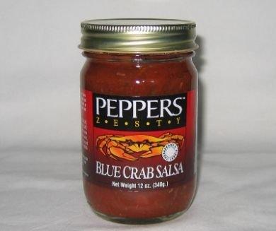 (Peppers Zesty Blue Crab Salsa 12 Oz)