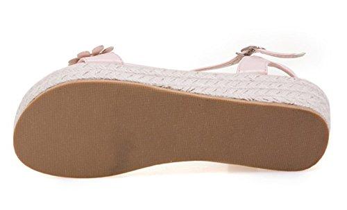 Sandali Con Tacco Medio Zeppa Con Zeppa E Cinturino Alla Caviglia Con Cinturino Alla Caviglia E Cinturino Alla Caviglia