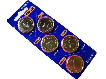 Sony CR2430 Lithium Coin Battery CR2430 (5 Pack) by Sony
