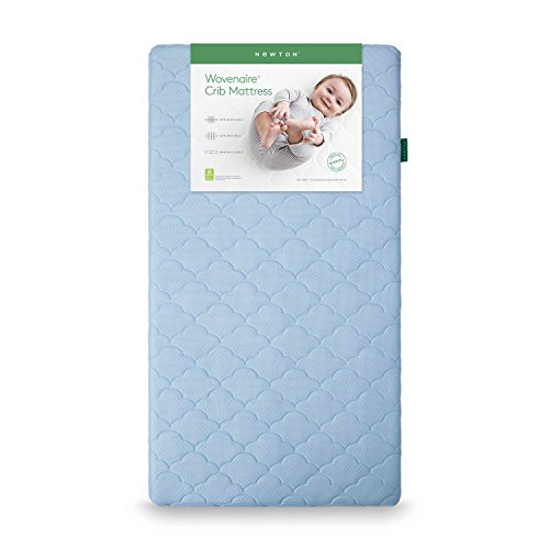 Newton Wovenaire Crib Mattress-100% breathable and proven to reduce the risk of suffocation. Go beyond organic with a non-toxic, hypoallergenic, washable crib mattress that babies can breathe through.