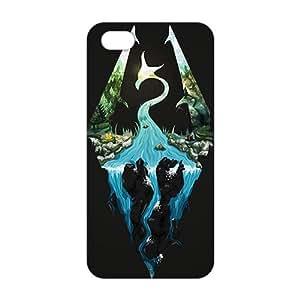 Creative Skyrim Logo 3D For SamSung Galaxy S4 Mini Phone Case Cover