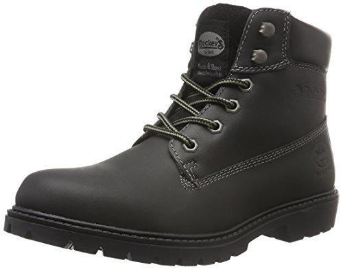 Hombre de Gerli 100 Zapatillas Negro por Estar 110 Dockers para by Schwarz 19pa040 Casa 4qwxvX