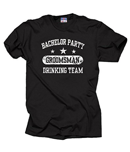 Bachelor Party Groomsman T shirt wedding