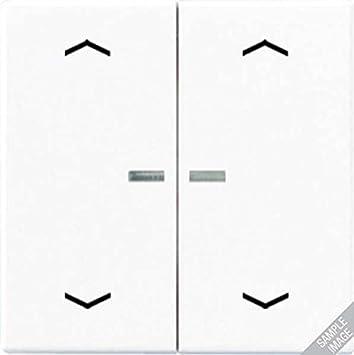 Jung Balancín Resistente a los Golpes para Serie Interruptor y Doble pulsador con luz Escalera y símbolos Serie A Negro, 1 Pieza, a 595 BF ko5mp SW: Amazon.es: Bricolaje y herramientas