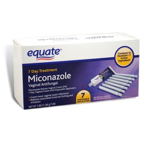 Equate - Miconazole 7 de traitement de jour, crème antifongique vaginal, 1,59 oz