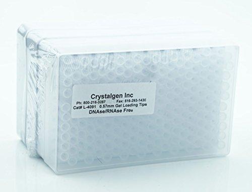 - Crystalgen - 1- 200 ul, round gel pipet tip, universal fit
