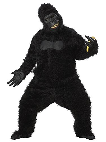 California Costumes Goin' Ape Bodysuit, Black, One