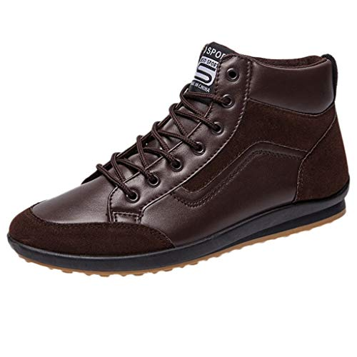 COPPEN Men Shoes Fashion Boots Footwear Sneakers High Top Casual Sports Boot -