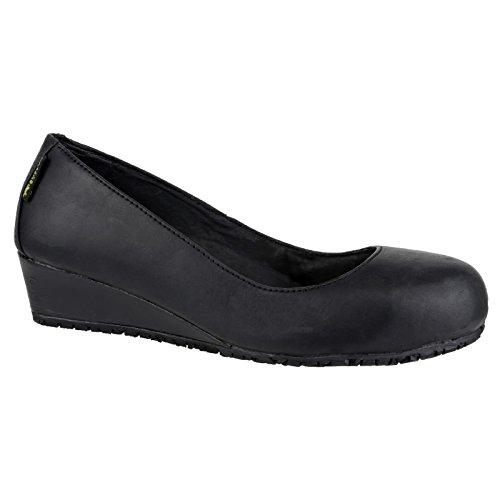 Femme Amblers Noir EU de Chaussures Safety 41 sécurité FS107 RRqB7P