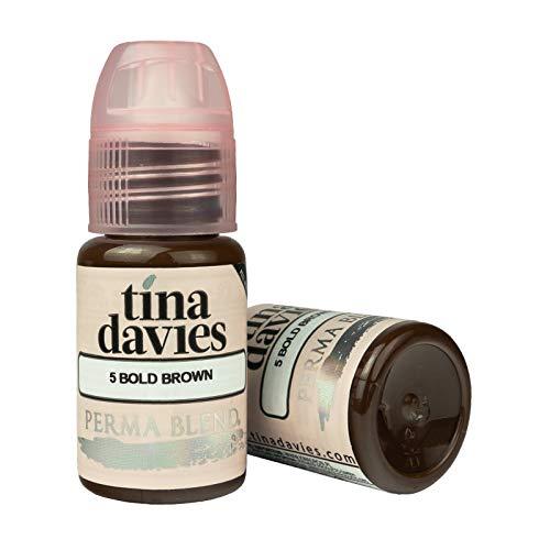 - Tina Davies X Permablend - Bold Brown 1/2oz Pigment