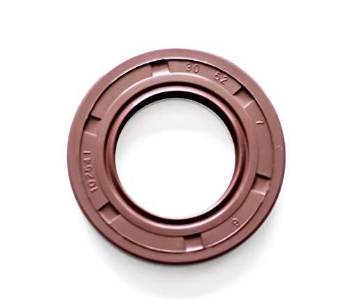 - Oil Seal 30X52X7 (2 PCS) Viton Oil Seal Grease Seal TC | EAI Double Lip w/Garter Spring. Single Metal Case w/Viton Rubber Coating. 30mmX52mmX7mm | 1.181