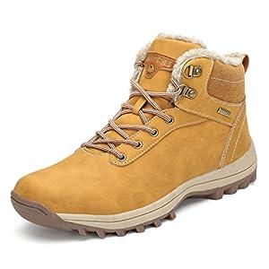 Pastaza Stivali da Neve Uomo Donna Trekking Scarpe Inverno Impermeabili Outdoor Pelliccia Sneakers 8
